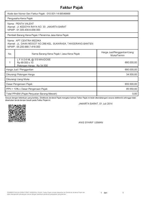 cara membuat faktur pajak menggunakan aplikasi e faktur newbie code news blog yang membahas