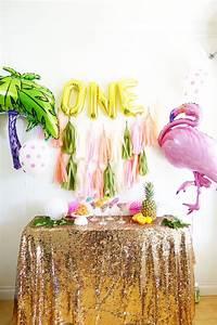 Kara39s Party Ideas Glamorous Tropical Flamingo Birthday