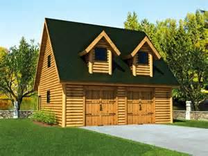 Log Cabin Floor Plans with Garage