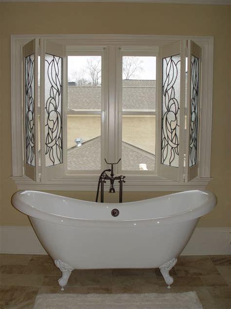 elite shutters in bathroom settings traditional window