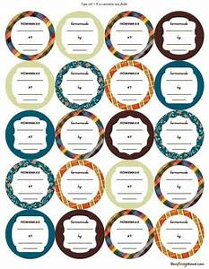 printable canning jar labels With canning sticker labels
