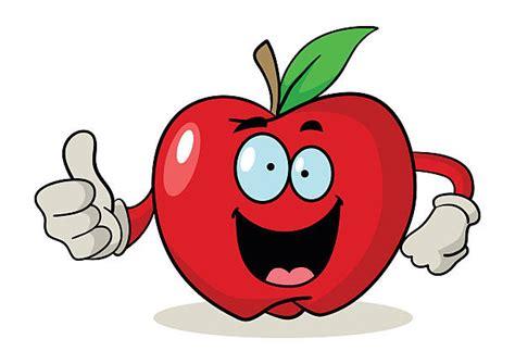Top 60 Apple Cartoon Clip Art, Vector Graphics And