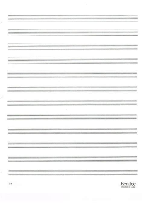 空の五線譜 〜Blank Music Sheet