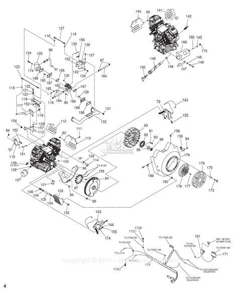 Generac Parts Diagram For Long Block Common