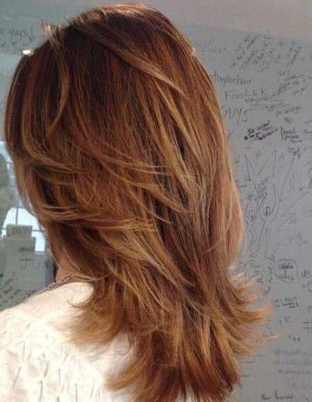 feathered medium length hairstyles best medium length haircuts