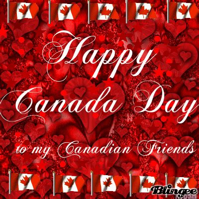 Happy Canada Day Canadian Friends Picture