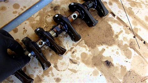 mitsubishi gdi engine cleaning rocker tubes and replacing lash adjusters for