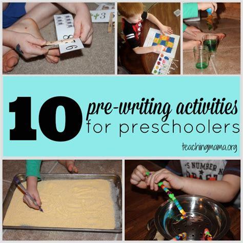 10 pre writing activities for preschoolers 405 | 10 Pre Writing Activities for Preschoolers