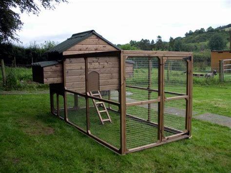 Chicken Coop Run Plans