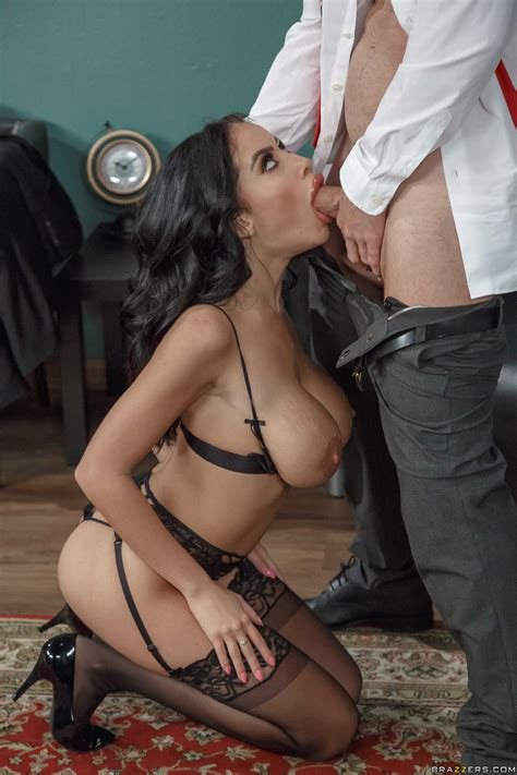 stunning latina in sexy lingerie yearns for a hot fuck