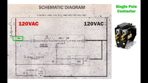 Hvac Condenser How Read Schematic Wiring