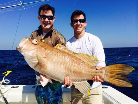 grouper yellowedge fishing sea deep mid february report islamorada florida lb bn giant