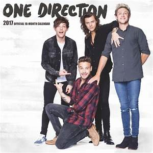 One Direction 2017 Wall Calendar: 9781465057549 ...