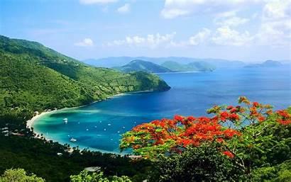 Virgin Islands Island Beach Ocean Wallpapersafari Tropics