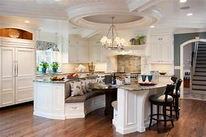 Island for Eight - Traditional - Kitchen - Other - by