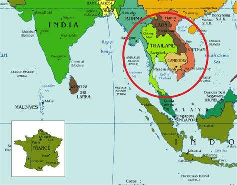 Thailande Carte Geographique Monde carte du monde thalande du sud arts et voyages