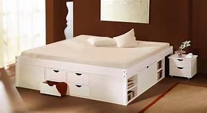 Doppelbett Mit Stauraum 180x200 : doppelbett m bel einebinsenweisheit ~ Bigdaddyawards.com Haus und Dekorationen