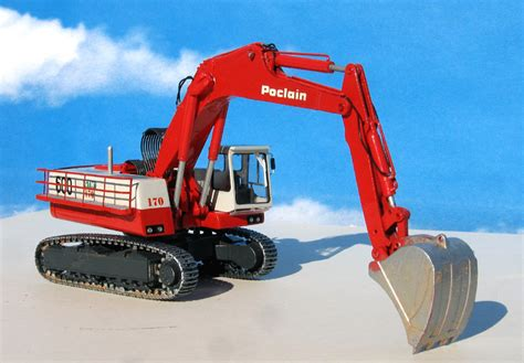 poclain ck excavator