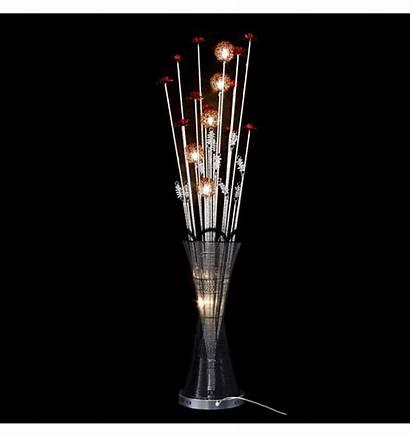 Vase Led Lamp Flower Aluminum Marta Floor