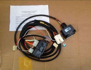 Unt Towbar Trailer Wiring Harness Loom For Mitsubishi
