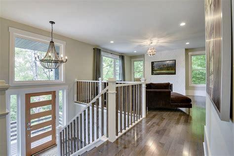 Split Level Kitchen Living Room Remodel by Split Level Home Entry Way Living Room Design By