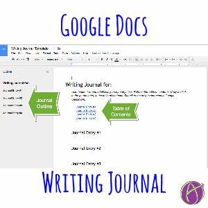 Use this google docs template to help students create a for Diary template google docs
