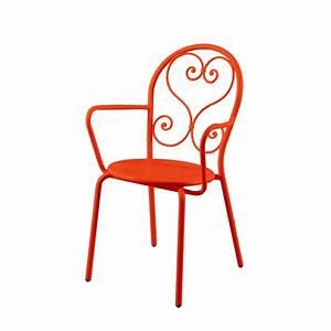 Fauteuil Fer Forgé : fauteuil de jardin classique en fer forg flor ale amobois ~ Melissatoandfro.com Idées de Décoration