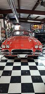 1962 Chevrolet Corvette 327 Convertible Red Rwd Manual For