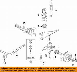 Ford Oem E150 Econoline Club Wagon Front Suspension