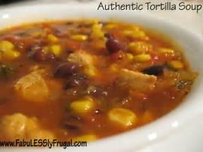 Authentic Chicken Tortilla Soup Recipe