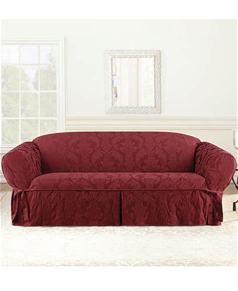macys sofa covers sure fit matelasse damask 1 sofa slipcover