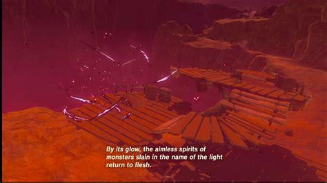 Zelda Blood Moon Zelda Breath Of The Wild Blood Moon Youtube