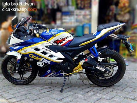 R 15 Modif by Modif Yamaha Yzf R15 Ala Arek Suroboyo Guwanteng Tenan