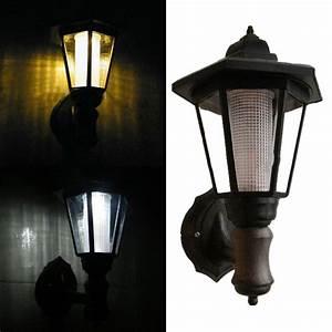 Led Outdoor Lampe : outdoor solar led lamp garden light rainproof wall gate lighting wall hanging es ebay ~ Markanthonyermac.com Haus und Dekorationen