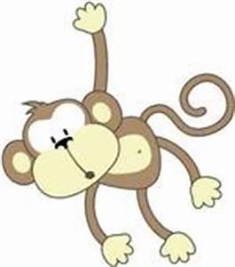 Baby Monkey Hanging Clip Art | www.pixshark.com - Images ...