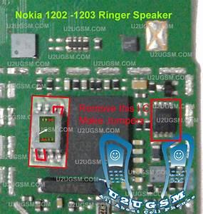 Nokia 1202 1203 Ringer Speaker Problem Solved Without Ic