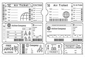 search results for airline ticket template word With free printable plane ticket template