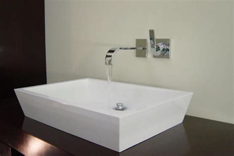 wall mounted kitchen sinks wall mounted faucets bathroom sink the homy design 6952