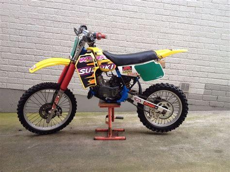 Suzuki Rm Parts by Suzuki Rm 80cc Big Wheel Motocross Mx Scrambler With