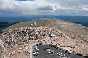 Mount Evans And The Highest Paved Road In North America