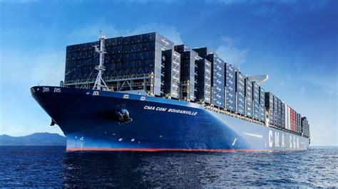 le bougainville le  gros porte containers au monde