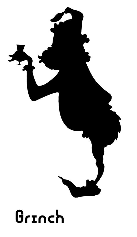 Welcome to our free svg file section. Grinch silhouette   Silhouette christmas, Silhouette cameo ...