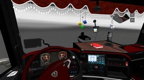 truck simulator 2 mods scania interior tones ets 2 mods