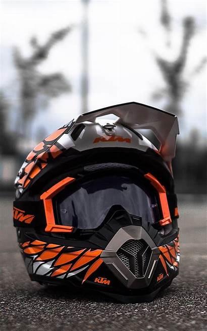 Ktm Helmet Wallpapers Motorcycle 4k Bikes Iphone