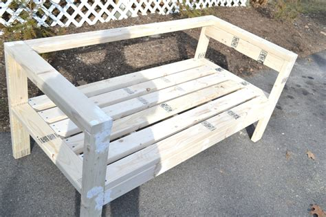 easiest  bench plans  diy projects diy
