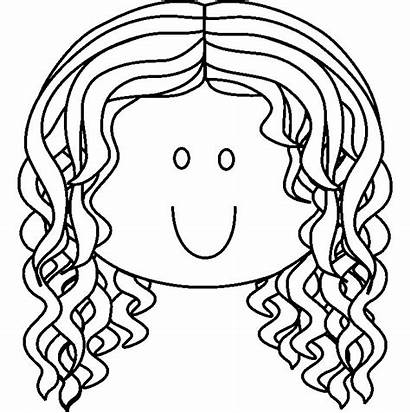 Coloring Pages Face Faces Colouring Clipart Drawing