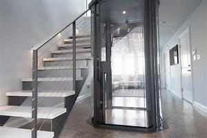 Bright Residential Elevators look Boston Contemporary ...