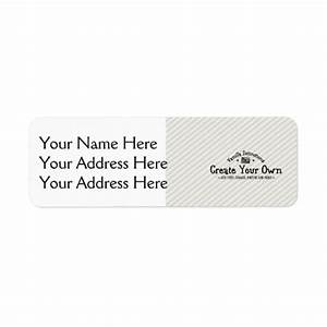 create your own address labels zazzle With how to print your own address labels