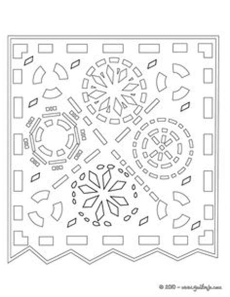 Papel Picado Template For by Papel Picado Templates In General Cool