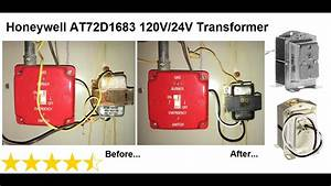 Honeywell At72d1683 120v  24v Transformer Replacement